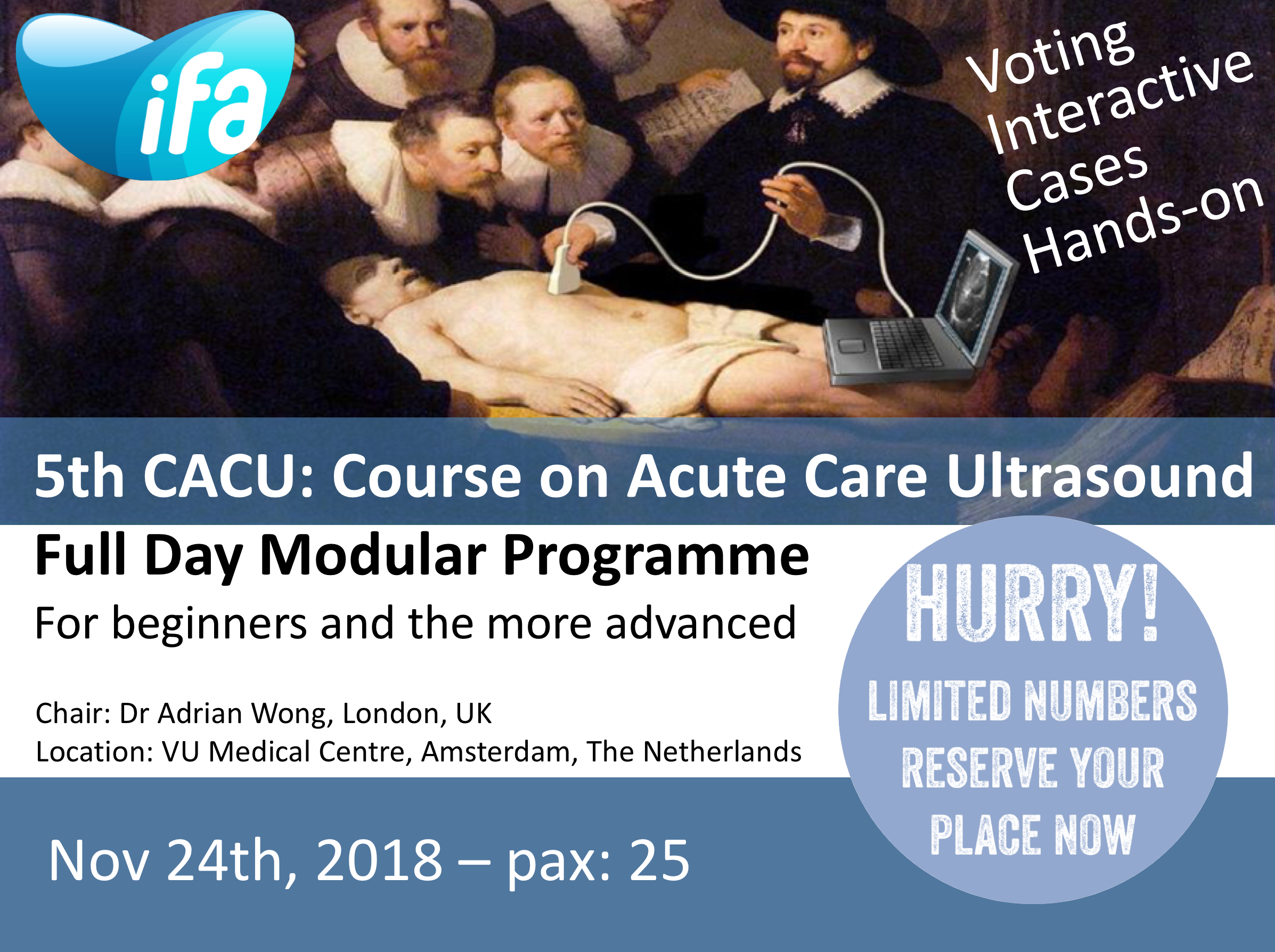 5th CACU: Course on Acute Care Ultrasound