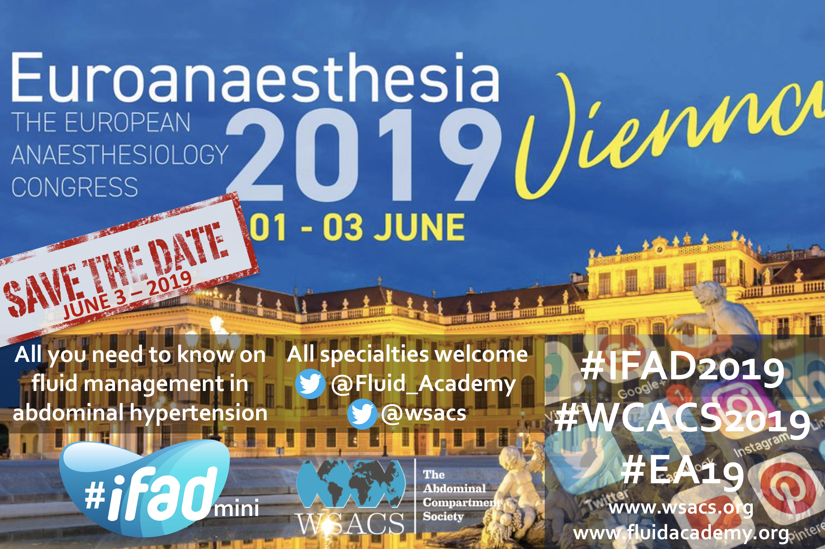 #iFADmini during #EA2019 Vienna Euroanesthesia 2019