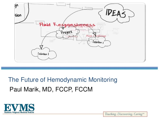 The Future of Hemodynamic Monitoring
