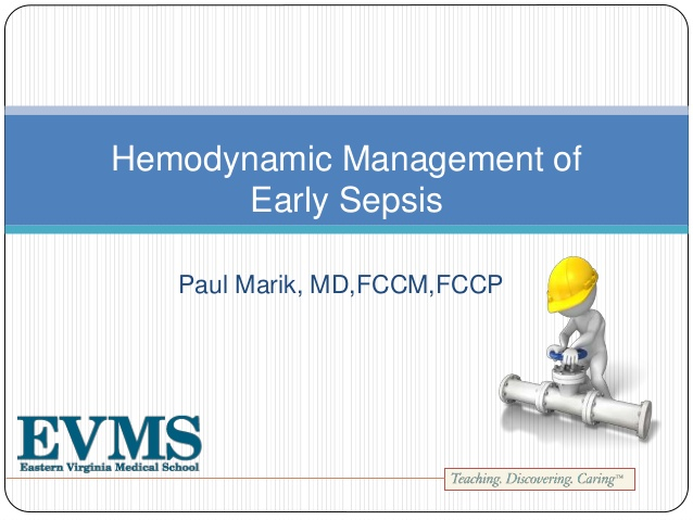 Hemodynamic Management of Early Sepsis