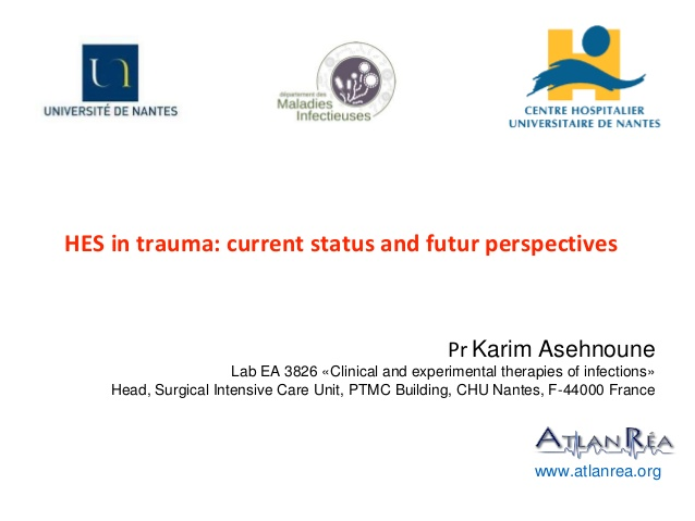 HES in trauma: current status and futur perspectives