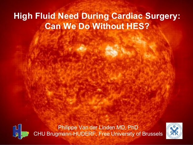 High Fluid Need During Cardiac Surgery: Can We Do Without HES?
