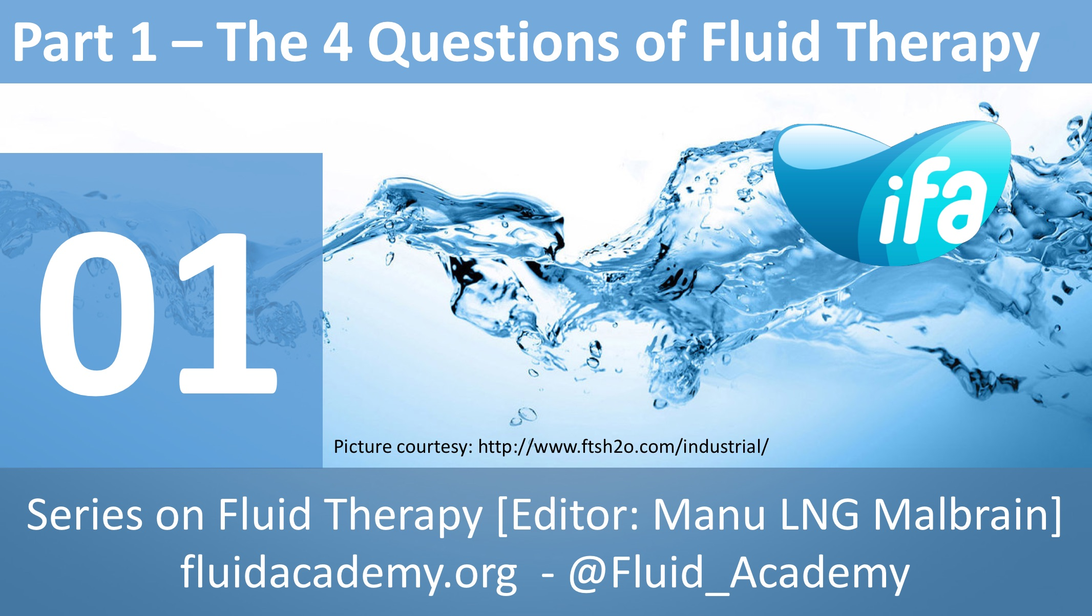 The four questions of fluid therapy