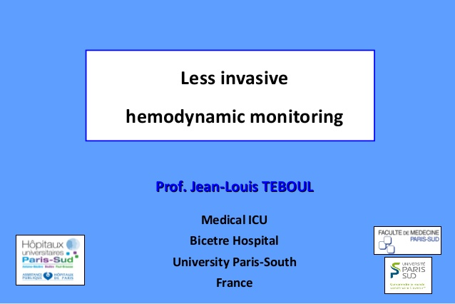 Less invasive hemodynamic monitoring