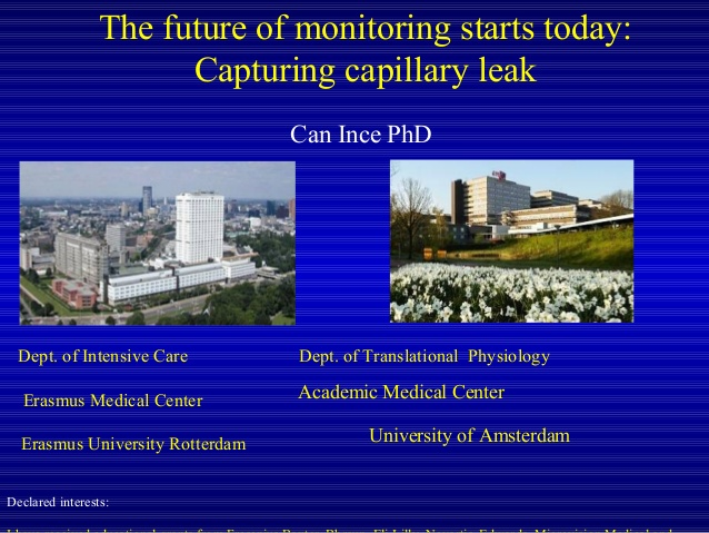 Can Ince - Capturing capillary leak - IFAD 2012