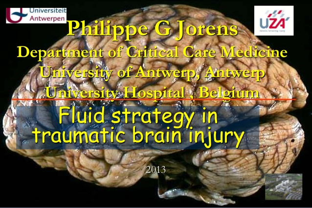 Philippe G Jorens Department of Critical Care Medicine University of Antwerp, Antwerp University Hospital , Belgium