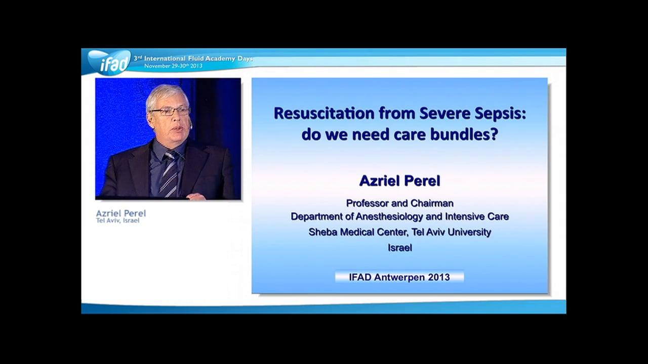 Azriel Perel - Sepsis Bundles