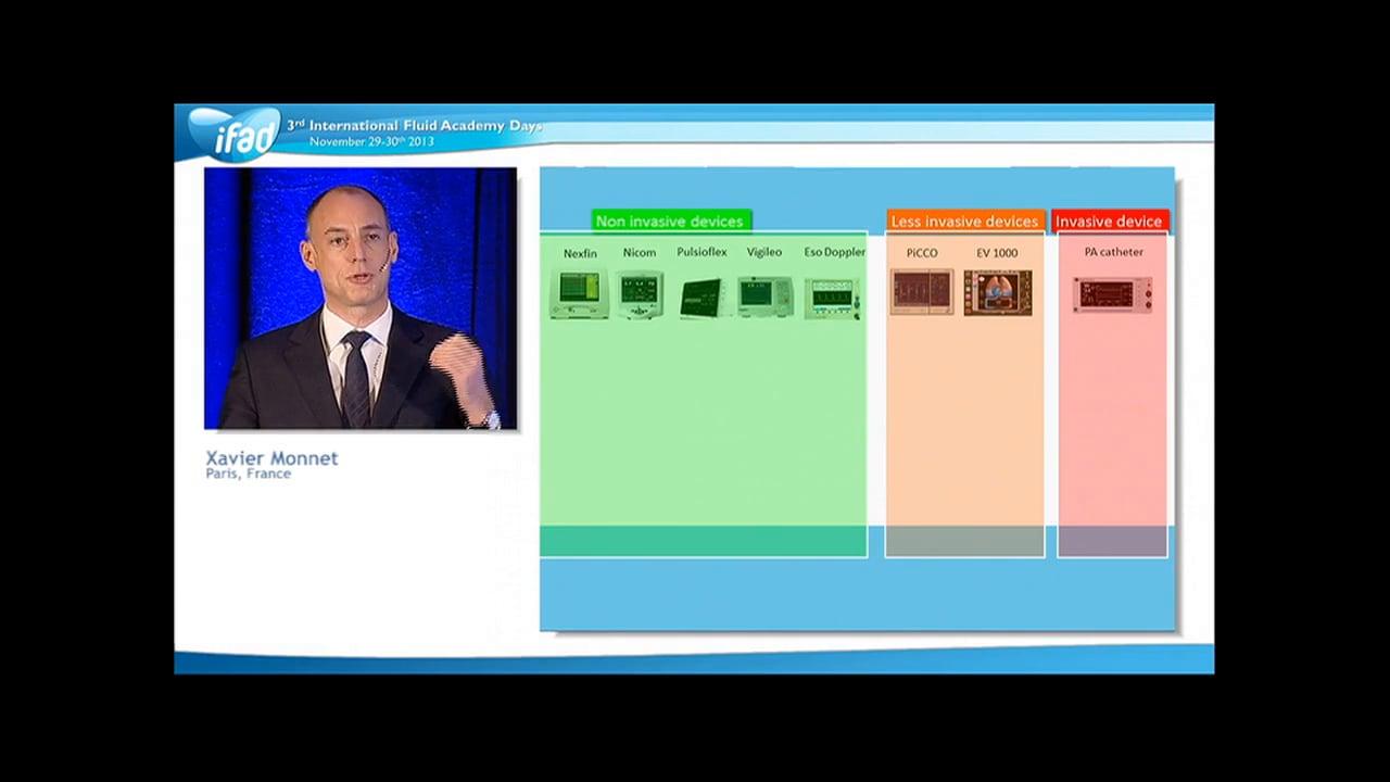Xavier Monnet - Less Invasive Monitoring