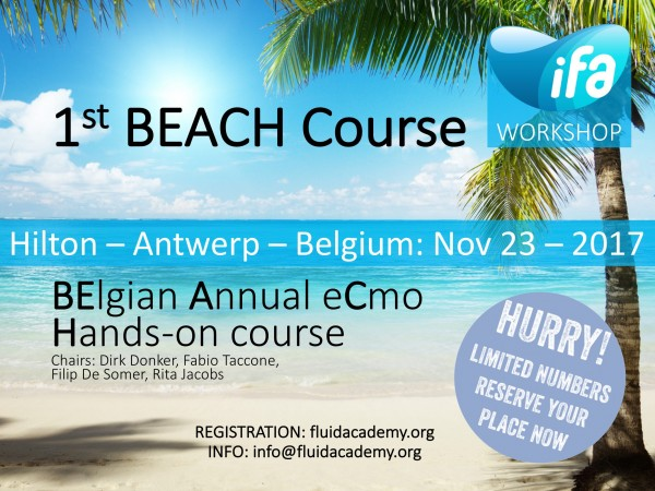 The First Annual BEACH (BElgian Annual eCmo Hands-on) Course
