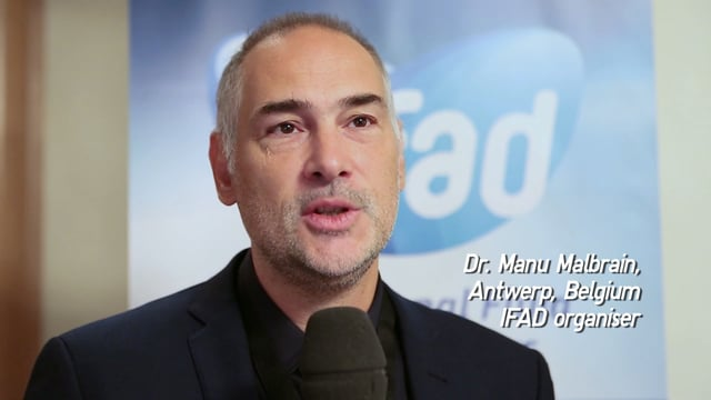 Faculty Quote Dr. Manu Malbrain