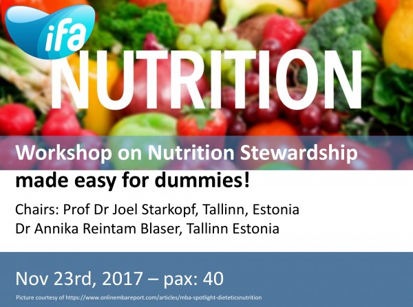 Workshop on Nutrition Stewardship