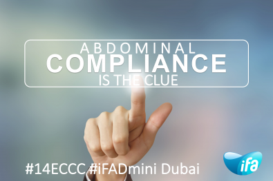 The neglected role of abdominal compliance (#iFADmini #IFAD2018)